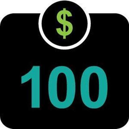 $100 Declining Balance Dollars
